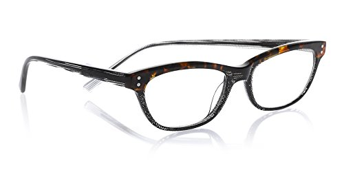 eyebobs Stew Zoo, Tortoise and Black, Reading Glasses SUPERIOR QUALITY – because your eyes deserve the good stuff