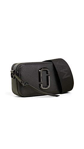 Marc Jacobs Women's Snapshot DTM Camera Bag, Black, One - Marc Jacobs Cowhide Leather