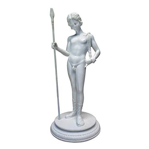 Design Toscano Dionysus Greek God of Fertility Bonded Marble Resin Statue, White