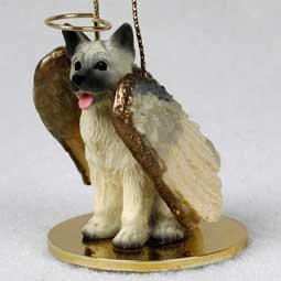 Akita Angel Dog Ornament - (Akita Fawn Figurine)