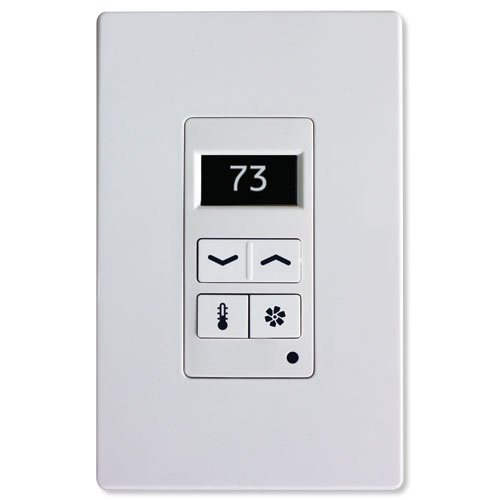 Leviton 95A03-1TWH Thermostat Display Control, White ()