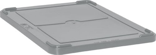 Quantum Storage Systems COV93000GY Cover for Dividable Grid Container DG93030, DG93060, DG93080 and DG93120, Gray, 3-Pack by Quantum Storage Systems