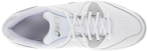 de mujer tenis Gel White Silver de la Game Asics Zapatillas White punto 5p7UqUw