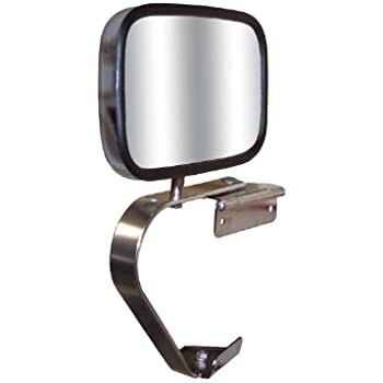 Fit System 60132C Driver Side Replacement OE Style Manual Folding Mirror