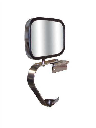 Side Truck Style (CIPA 41000 Universal OE Style Chrome Replacment Side Mirror)