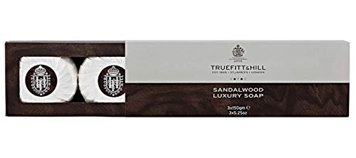 Truefitt & Hill Bath & Body Triple Soaps- Sandalwood (3 x ()