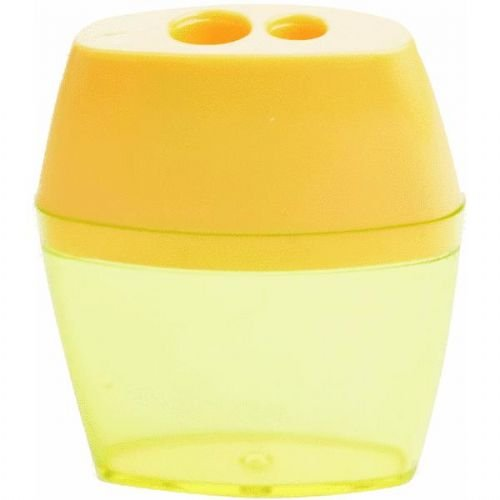 Crayon Pencil Sharpener - Westcott 2 Hole Crayon and Pencil Sharpener, Assorted Colors (15234)