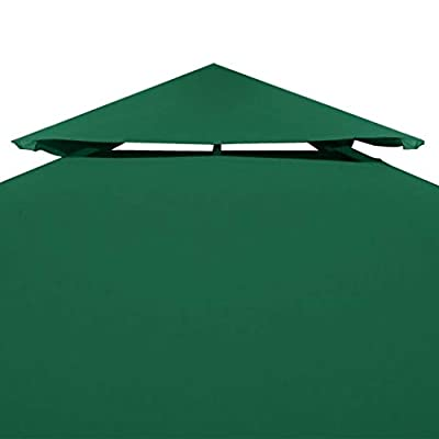 Struggling D Gazebo Cover Canopy Replacement 9.14 oz/yd² Green 10'x10': Home & Kitchen