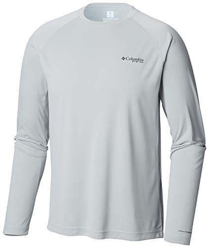 Columbia Men's Cast Away Zero II Knit Long Sleeve Shirt, Breathable, UV Sun Protection