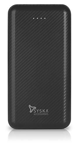 Syska Power Core200 P2006J 20000 mAh Lithium Polymer Power Bank (10W, Dual USB Output, Micro & Type-C Input) (Grey)