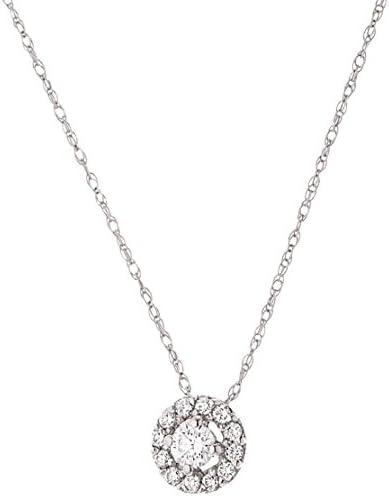 collier argent diamants