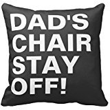 Dads Chair - Dads Chair Stay Off Funny Rb9552b8d249845d0b9b98b9941b5542d I5fqz 8byvr Pillow Case