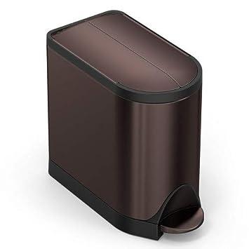 Amazoncom Simplehuman 10 Liter 26 Gallon Butterfly Lid Bathroom