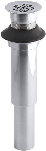 KOHLER K-7129-CP Lavatory Grid Drain without Overflow, Polished Chrome new