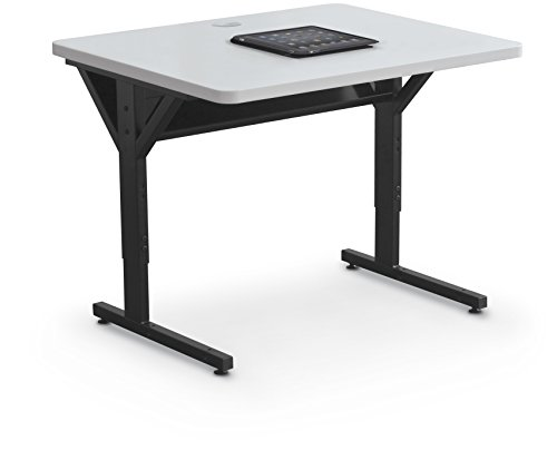 Balt Brawny Adjustable Height Mobile Training & Maker Space Table, 36