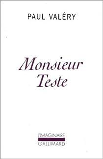 Monsieur Teste par Valéry