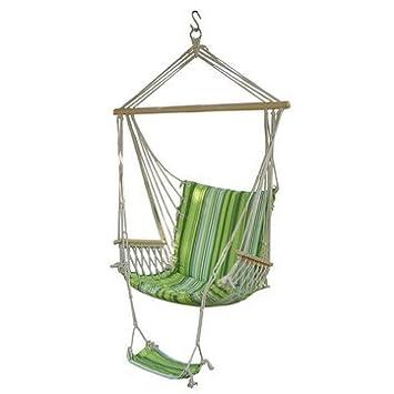 Generic Outdoor Canvas Swing Hammock Leisure Hanging Chair Garden Patio Yard Max 330Lbs