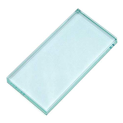 Pro Nail Art Painting Color Toning Glass Board Glass Makeup Palette Eyelash Extension Adhesive Glue Pallet Glass Palette Stand
