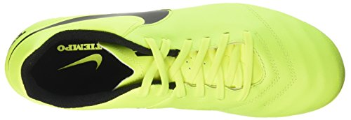 Nike Tiempo Genio Ii Leather Ag-Pro, Zapatillas de Fútbol para Hombre Amarillo (Volt / Black-Volt)