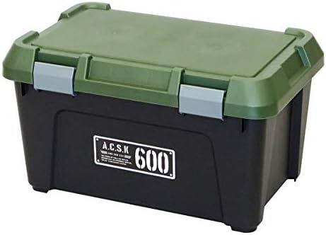 [スポンサー プロダクト]Astage(アステージ) 収納ボックス Xシリーズ アクティブストッカー 600X ブラック カーキ 奥行38×高さ33.3×幅60cm