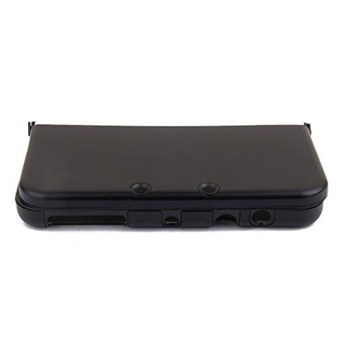Aluminium Metall Haut Case Schutzhülle Für New Nintendo 3DS XL Schwarz