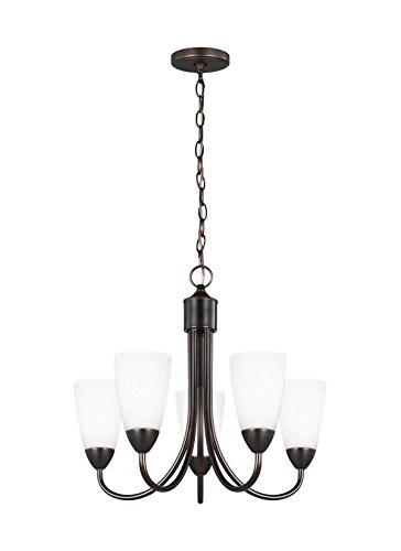Sea Gull Lighting 3120205-710 Seville Chandelier, 5-Light 375 Total Watts, Burnt Sienna by Sea Gull Lighting