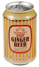 Royalty Ginger Beer Diet 330ml - (6 Pack)