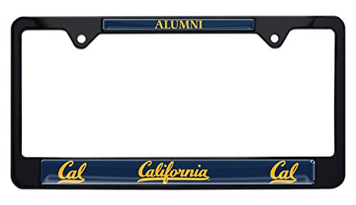 license plate frame cal alumni - 2