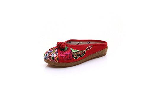 Red Pantofole Pantofole Pantofole Lazutom Donna Lazutom Donna Red Lazutom HUxg4qg8