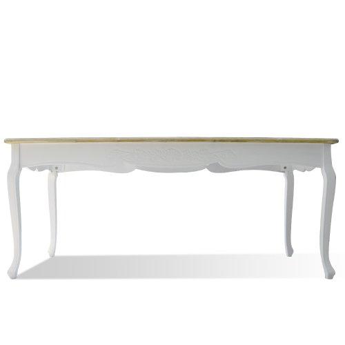 Esstisch vintage weiß  Esstisch Shabby Chic Landhaus Stil Weiss Holz Vintage Tisch ...