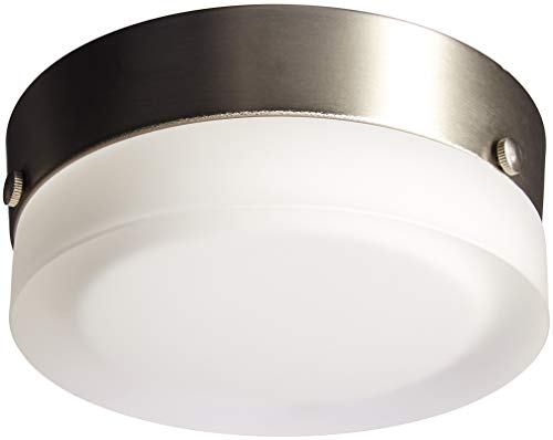 (Tech Lighting 700FM360SS, TL 360, Small Round Ceiling/Wall Shade, Satin Nickel)