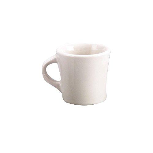 Mug Tucson Coffee - Diversified Ceramics DC103-W White 10 Oz. Tucson Coffee Mug - 24 / CS