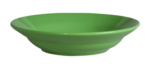 Waechtersbach Fun Factory II Green Apple Soup Plates, Set of 4