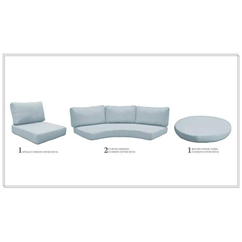 TK Classics High Back Cushion Set for FLORENCE-06c