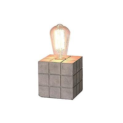 Contemporain 5 Cm Design 11 À Industriel Beton Lampe Poser Cube jLVpzMSqUG