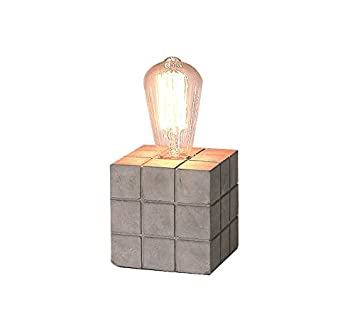 Cube Meubletmoi Beton Design Industriel À Lampe Poser 11 Cm 5 w80OnPXk