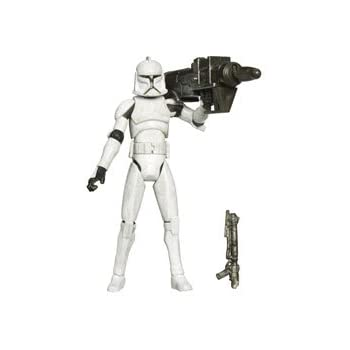 Star Wars: The Clone Wars Clone Trooper with Rocket Firing Launcher