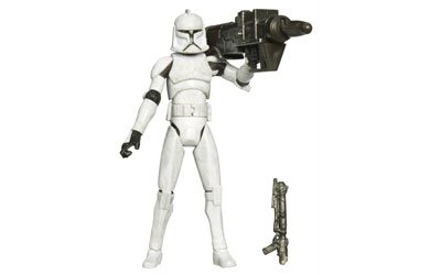 - Hasbro Star Wars: The Clone Wars Clone Trooper with Rocket Firing Launcher