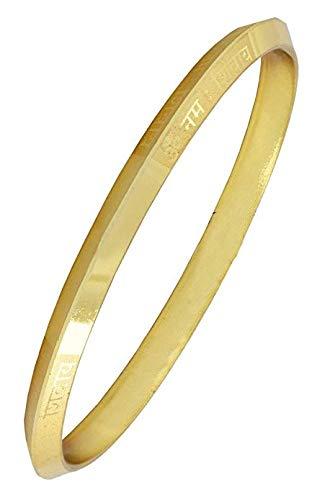 Np Gold Designer Om Kada Bracelet For Men Amazon In Jewellery