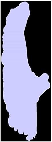 Samunshi Ammersee Aufkleber  25 Farben 8 Größen