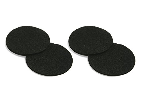 Set of 2 Norpro 93F 2-Piece Composter Filter Refills for Ceramic Compost Keeper bundled by Maven Gifts ()