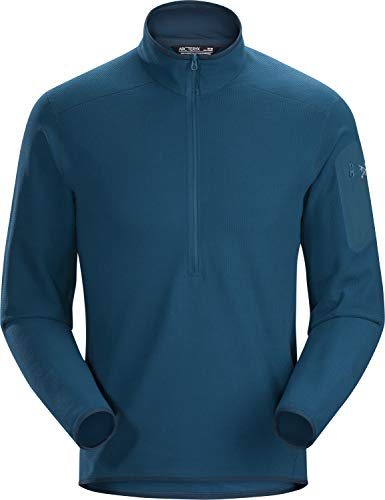 Arc'teryx Delta LT Zip Neck Men's (Iliad, Large) from Arc'teryx