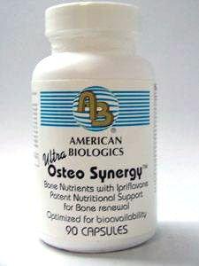 Biologics americano - sinergia de Osteo Ultra - 90 cápsulas