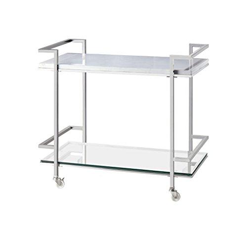 Velma Bar Cart by Bassett Mirror Company