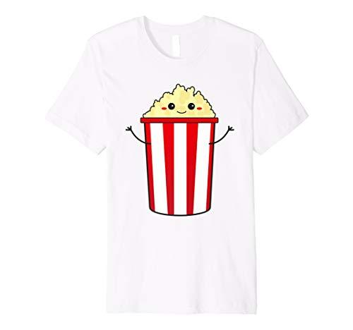 Popcorn Cinema T-Shirt - cute and kawaii Gourmet Popcorn
