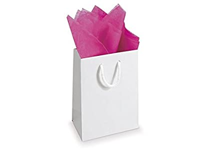 10 Sheets Acid Free Tissue Paper Various Colour 500X750 Pink, Qty: 1 Sample Sheet