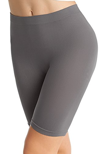 Shorts Smooth (NEOSAN Women's Seamless Slipshorts Smooth Panties Dark Grey XL)