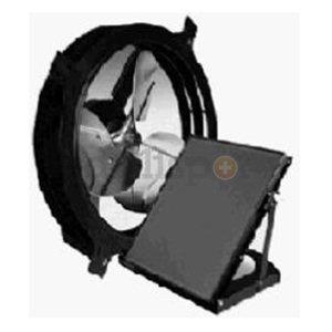 800CFM Solar Gable Fan
