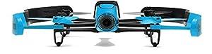 Parrot Bebop Quadcopter Drone - Blue-Black (Certified Refurbished)