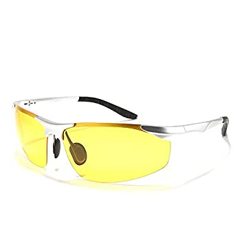 TIANLIANG04 Lente amarilla gafas de visión nocturna gafas polarizadas Guía de Alta Calidad para la noche